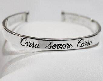 """Bracelet """"Corsa Sempre Corsa"""""""