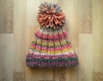 Thick wool hat