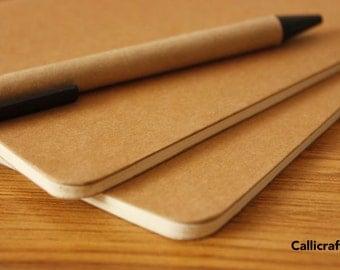 Kraft Notebook Empty Paper Scrapbook
