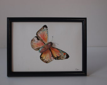 Stone image: Butterfly