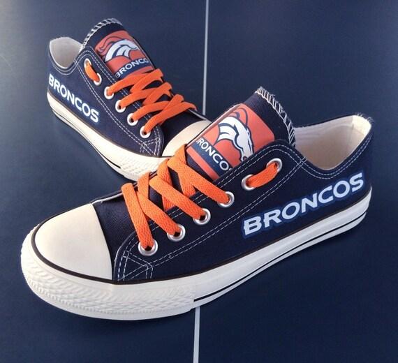 denver broncos shoes broncos sneakers broncos tennis by