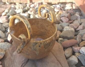 Ceramic Planter Pottery by ZMetalAndClay