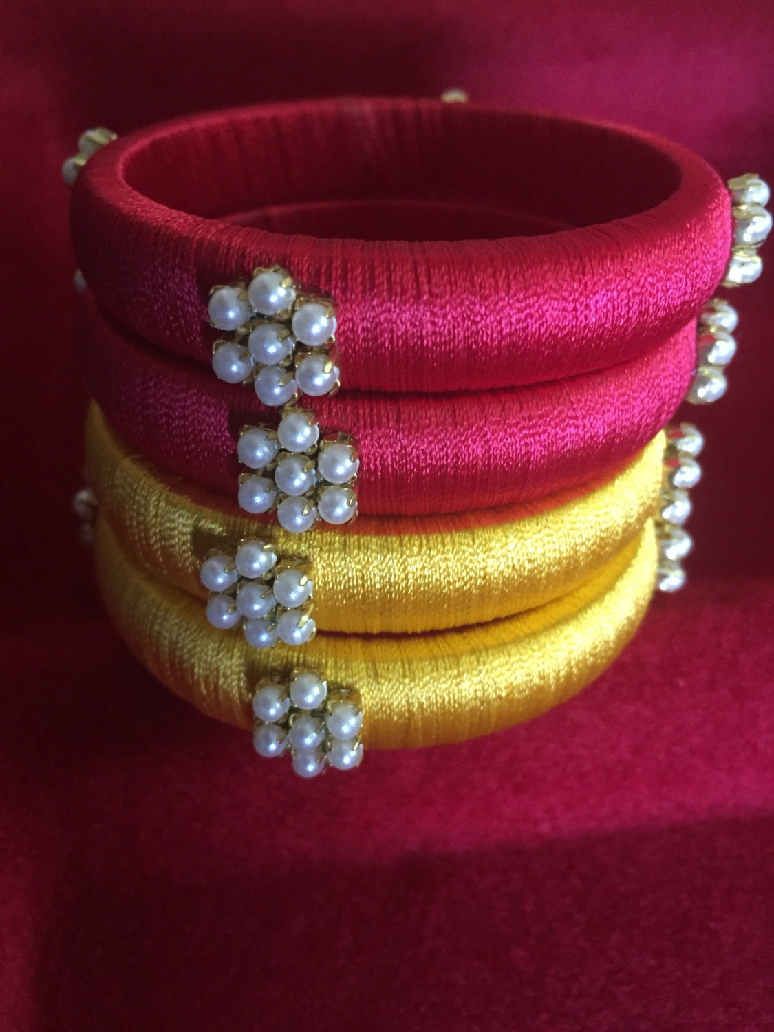 15 Latest Collection Of Silk Thread Bangles In India 2017