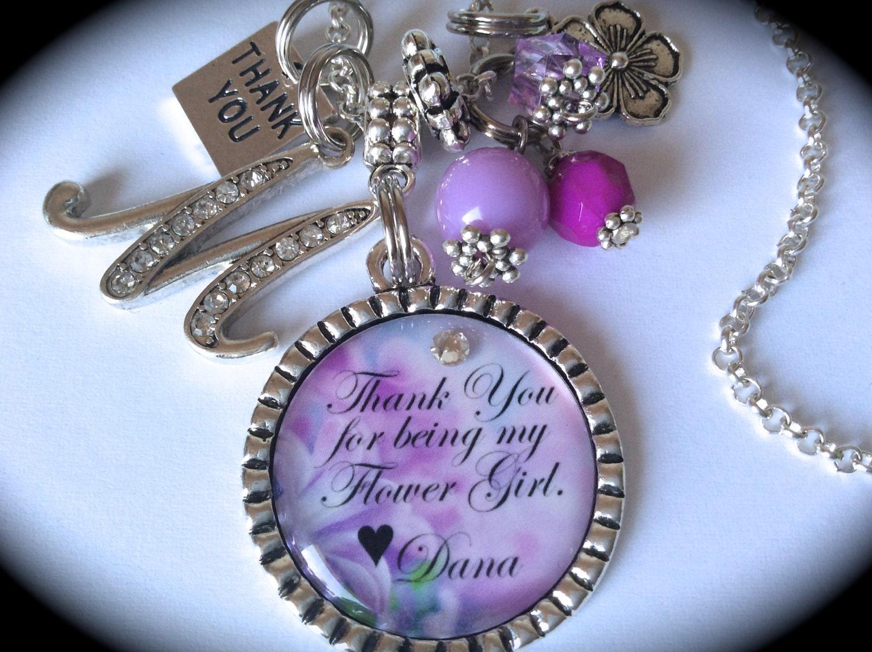 Flowergirl Gift Flower Girl Gift Flower Girl Jewelry Flower