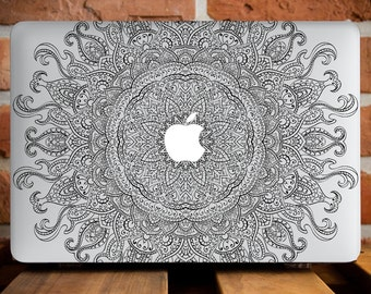 MacBook Case MacBook Air 11 Cover MacBook Pro Retina 15 Case MacBook Pro 13 Case MacBook Air 13 Case Macbook Accessories Full Sun Mandala