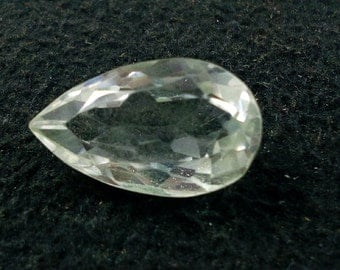 12 carat Faceted Gemstone,Quartz Gemstones 20x12x9 mm Oear Cut Stone,Quartz Stone,Loose Quartz