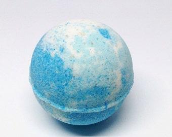 Blue Lagoon Bath Bomb Falling Water Soap Company, Handmade Homemade Soap, Bath Fizzie, Bath Fizzy, Bath Fizz Fiz