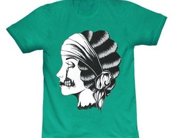 Limited Edition - Zombie Cameo T-Shirt - Jade
