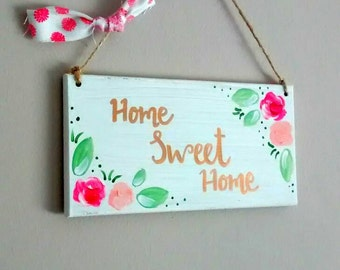 Home Wood Sign//