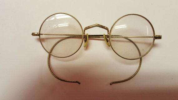 10k Gold Eyeglass Frames : Saved For Elliot 10K 12 K gold Eyeglass Frames Marked