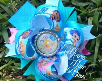 bubble guppies hair bow
