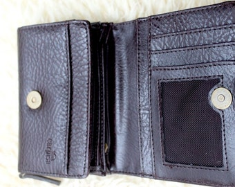 "SALE-31.6. !wallet ""CARPISA"" new, brown, small size, very comfortable"