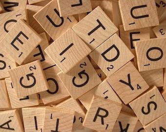 Scrabble Letter Print