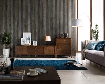 Walnut Mid Century  3 Drawer Dresser, Mid Century Storage -Ekais BQ Line