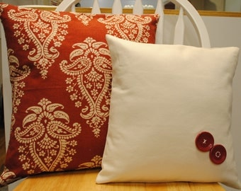 Valentine Pillows Set of 2 Or Custom Made If You LIke  with or without forms.