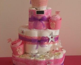 diaper cake Princess