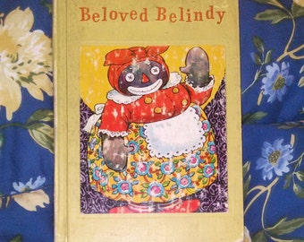 Vintage 1953© - Beloved Belindy by Johnny Gruelle, A Raggedy Ann Book - RARE Cover