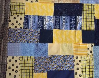 Vintage Styled Patchwork Quilt.