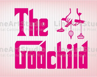 The Godchild SVG Files - SVG Cutting Files - Cutting Files for Silhouette Cameo or Cricut - Instant Download -