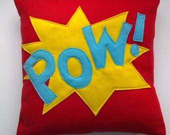 Superhero Pow Cushion