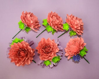 Cherie - Boutonniere - Corsage - Cherie Collection - Set of 6