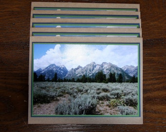 Grand Tetons Card Set