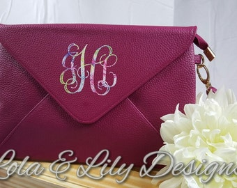 Envelope Clutch and Crossbody