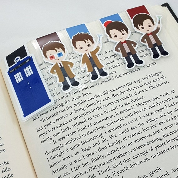 Doctor Who Inspired Magnetic Bookmarks | Doctor Who Gift Guide