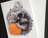 Day of the Dead Skull and...
