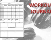 Printable Workout Journal. Track your workout like a pro. A4 and A5 format.