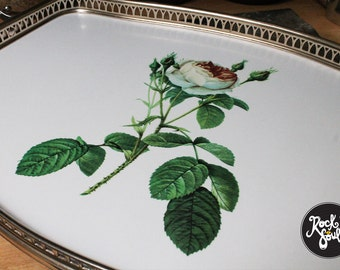 Vintage Woodmet Made In England Serving Tray circa 1950s
