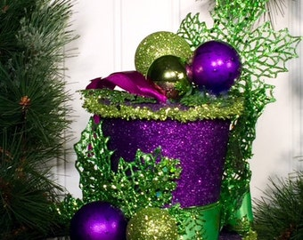 """Tophat Tree Ornament - """"Stately Gent"""""""