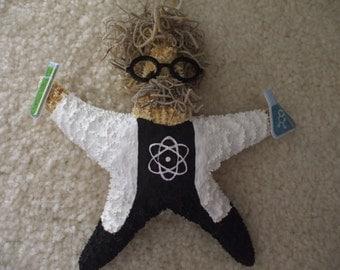 Scientist Starfish, Scientist Gift, Science Teacher Gift, Science Ornament, Career Gifts, Starfish Ornaments,
