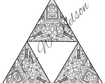 Mandala triforce
