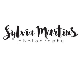 Premade logo design /  photography logo / typography logo / logo branding / boutique logo / premade design business  logo branding