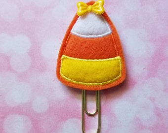 Candy Corn Planner Clip   Paperclip Bookmark    Bookmark    Paperclip   Planner Bookmark   Paperclip Bookmark   Planner Clips