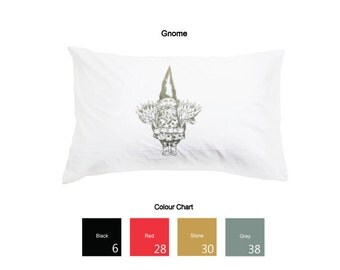 Gnome Printed Pillowcases