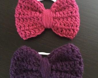Large Bow Headband