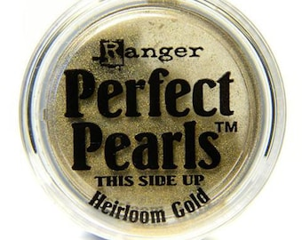 Perfect Pearls Heirloom Gold Pigment Powder - Ranger Perfect Pearls - Heirloom Gold Pigment Powder - Gold Perfect Pearls - Pigment Powder