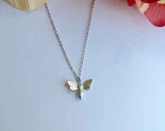 Bee Necklace.