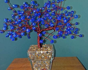 Large Blue Tree