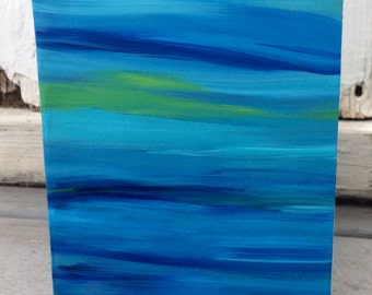 """Beautiful """"Color Blur"""" Reversible Greeting/Art Card"""
