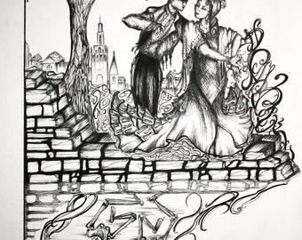 ORIGINAL Art work by Celyn