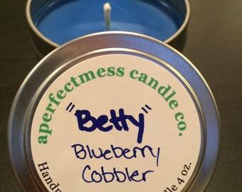 Betty - Blueberry Cobbler