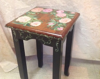 Hand Painted Decorative side table