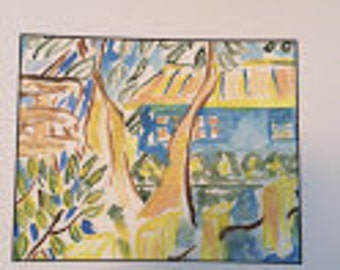 Watercolor Bungalow