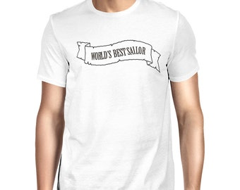 Worlds Best Sailor T-shirt