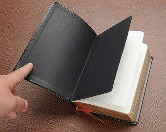 Classic Retro Leather Cover Thick Blank Pages Notebook Journal Diary Sketchbook
