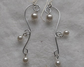 Bridal, bride's maid any time dangle earrings