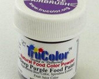 Tru Color Deep Purple Airbrush and Food Paint 5 gram